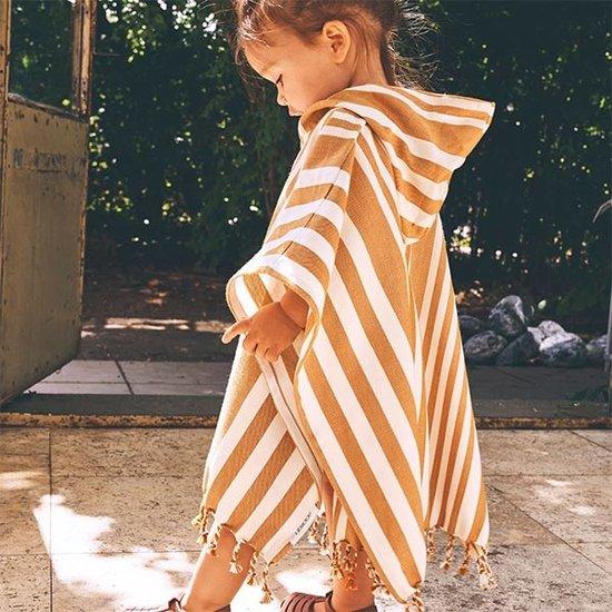 Liewood Poncho enfant Roomie Stripe Multi - Liewood