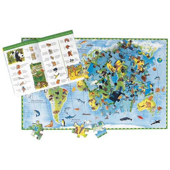 Djeco Djeco puzzle World's Animals 100pcs