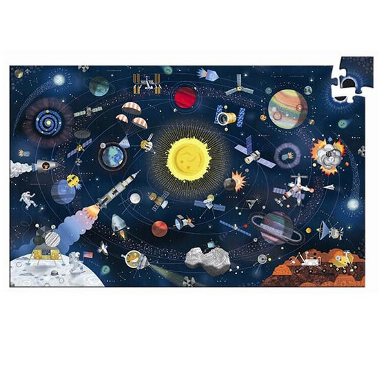 Djeco Djeco Puzzle Der Weltraum 200St