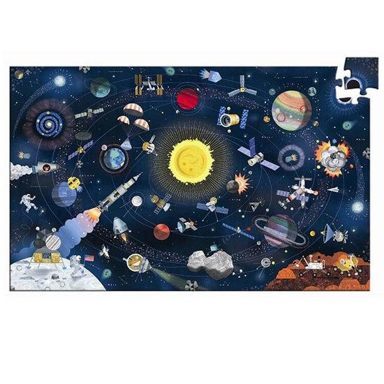 Djeco Djeco puzzle Space 200pcs