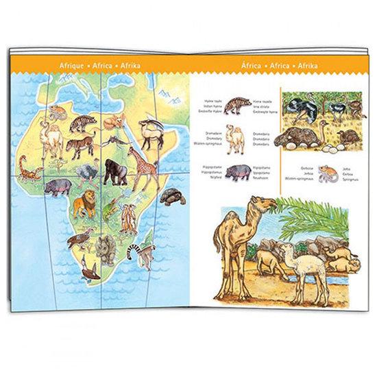 Djeco Djeco Puzzle Tiere der Welt 100St