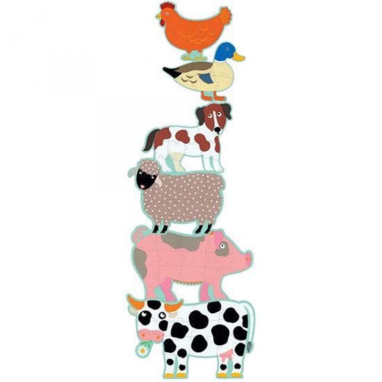 Djeco Djeco Jumbo puzzel Honoré en vrienden 9-12-15st