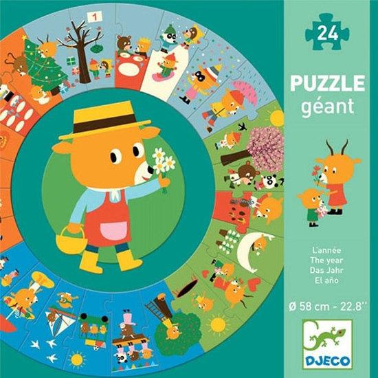 Djeco Djeco Jumbo puzzel Het jaar - 24st