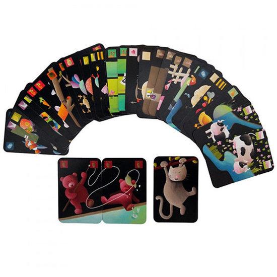 Djeco Jeu de cartes Mistigri - jeu de paires - Djeco