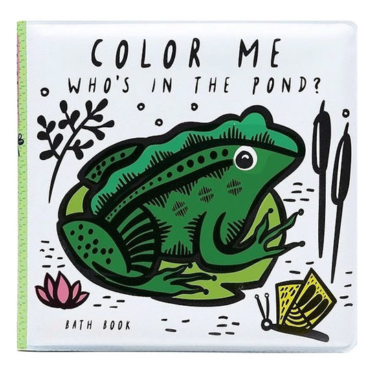 Wee Gallery Bath book - Color Me Pond - Wee Gallery