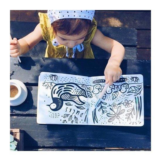 Wee Gallery Livre de bain - Color Me Pond - Wee Gallery