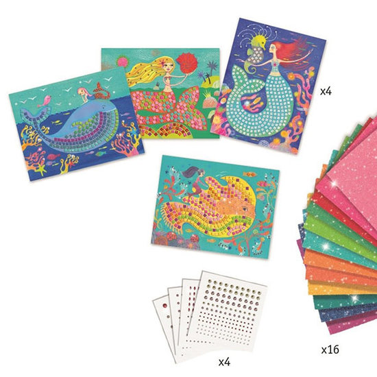 Djeco Mosaics The mermaid's song +7 yrs - Djeco