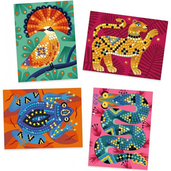 Djeco Mosaics Deep in the jungle +7 yrs - Djeco