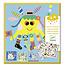 Djeco Djeco stickers zeedieren creëren