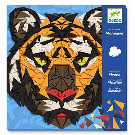Djeco Mosaiken Khan - Kunst nach Zahlen +8 J - Djeco