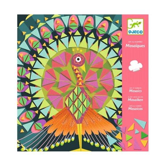 Djeco Mosaiken Coco - Kunst nach Zahlen +8 J - Djeco