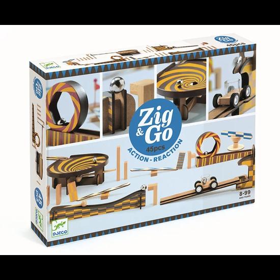 Djeco Djeco Zig & Go kettingreactie spel 45st