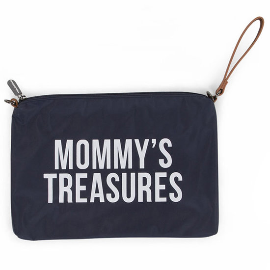 Childwood - Childhome Childhome Tasche Mommy Clutch navy