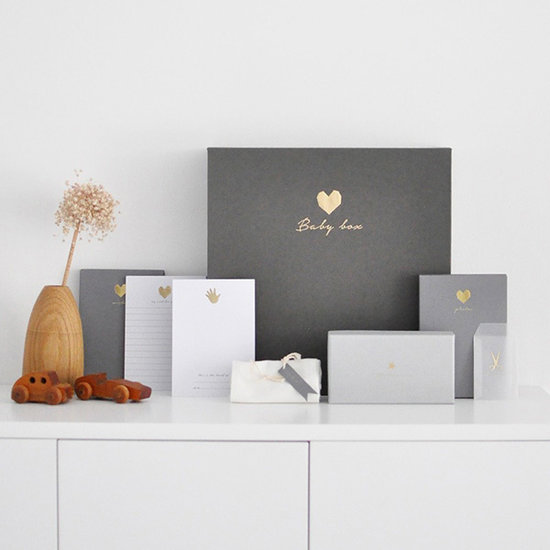 House of Products Babyboek grey linen - House of Products