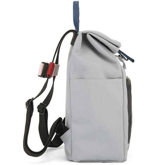 Dusq Dusq Mini Bag - Rucksack canvas cloud grey