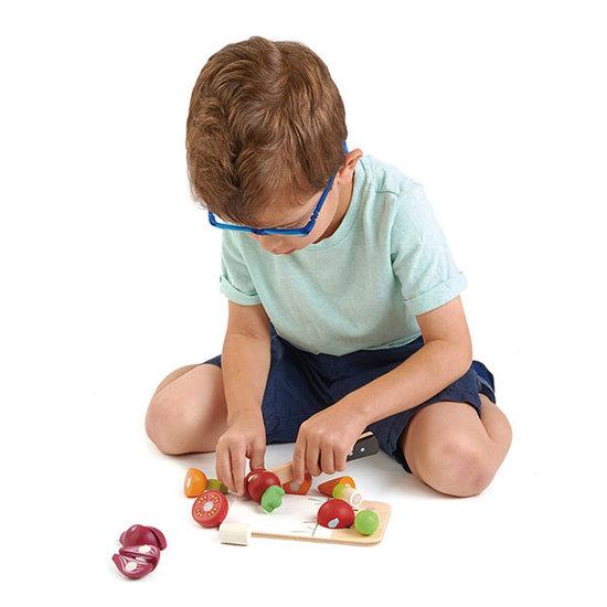 Tender Leaf Toys Snijplank Mini Chef - Tender Leaf Toys