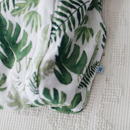 Little Unicorn Little Unicorn Musselin Schlafsack Tropical Leaf