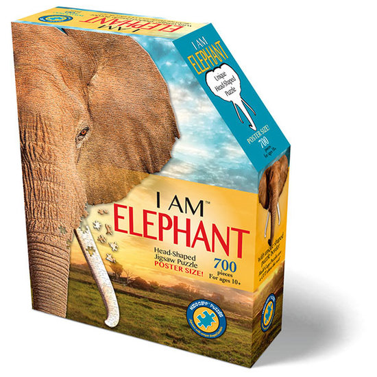 Madd Capp Jumbo puzzel olifant 700st +10jr - Madd Capp