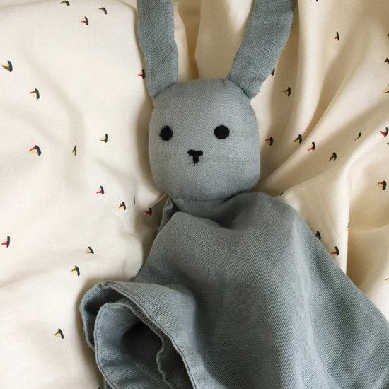 Konges Slojd Knuffeldoekje Rabbit French blue - Konges Sløjd