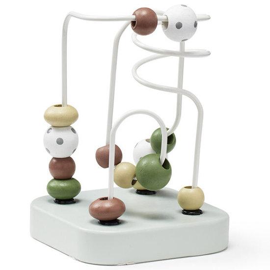 Kid's Concept Kids Concept kralenspel mini Edvin groen +12M