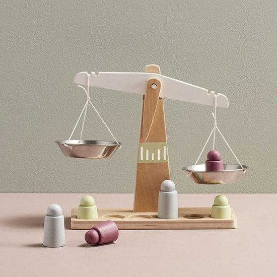 Kid's Concept Kids Concept houten weegschaal Bistro