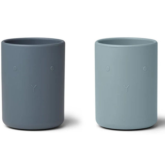 Liewood Drinkbekers Ethan cup Blue mix - Liewood