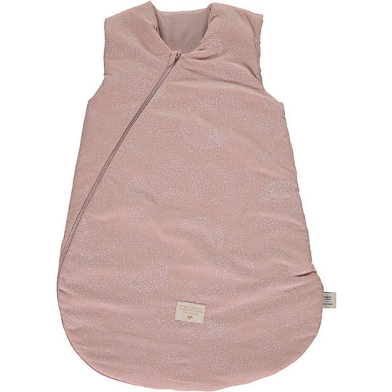 Nobodinoz tipi en accessoires Schlafsack Cocoon L White Bubble-Pink