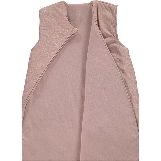 Nobodinoz tipi en accessoires Slaapzak Cocoon White Bubble-Misty Pink