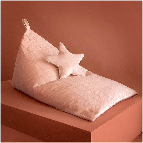 Nobodinoz tipi en accessoires Sitzsack Essaouira Bloom Pink Nobodinoz