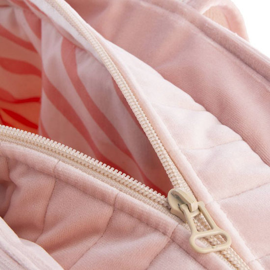 Nobodinoz tipi en accessoires Nobodinoz Wickeltasche Savanna Bloom Pink