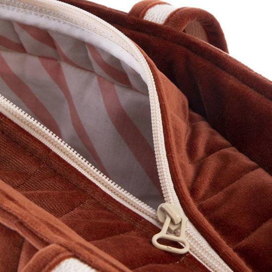 Nobodinoz tipi en accessoires Nobodinoz Wickeltasche Savanna Wild Brown