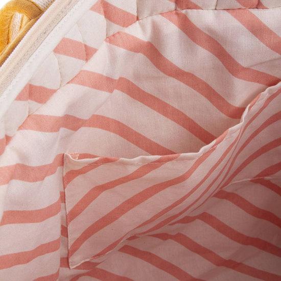 Nobodinoz tipi en accessoires Nobodinoz Wickeltasche Savanna Farniente Yellow