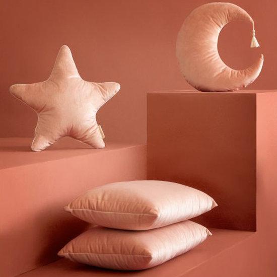Nobodinoz tipi en accessoires Cushion Pierrot Moon Bloom Pink - Nobodinoz