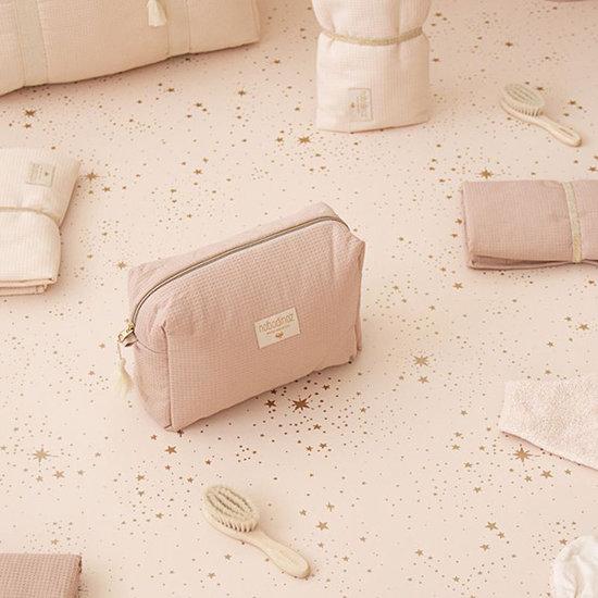 Nobodinoz tipi en accessoires Toilettas Diva waterproof Misty Pink - Nobodinoz