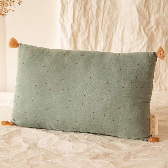 Nobodinoz tipi en accessoires Kissen Sublim Toffee Sweet Dots-Green Nobodinoz