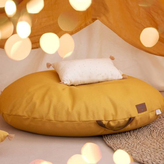 Nobodinoz tipi en accessoires Kissen Sublim Honey Sweet Dots-Natural Nobodinoz