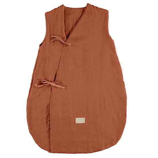 Nobodinoz tipi en accessoires Nobodinoz Dreamy summer sleep bag Toffee