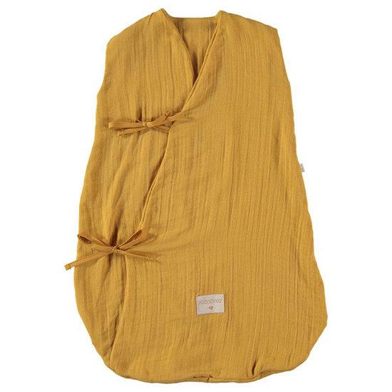 Nobodinoz tipi en accessoires Nobodinoz Dreamy zomerslaapzak Farniente Yellow