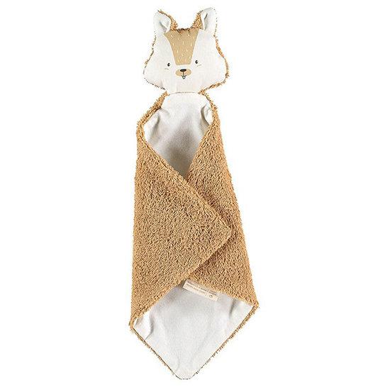 Nobodinoz tipi en accessoires Schnuffeltuch Squirrel Caramel - Nobodinoz