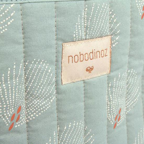 Nobodinoz tipi en accessoires Nobodinoz Paris changing bag White Gatsby - Green