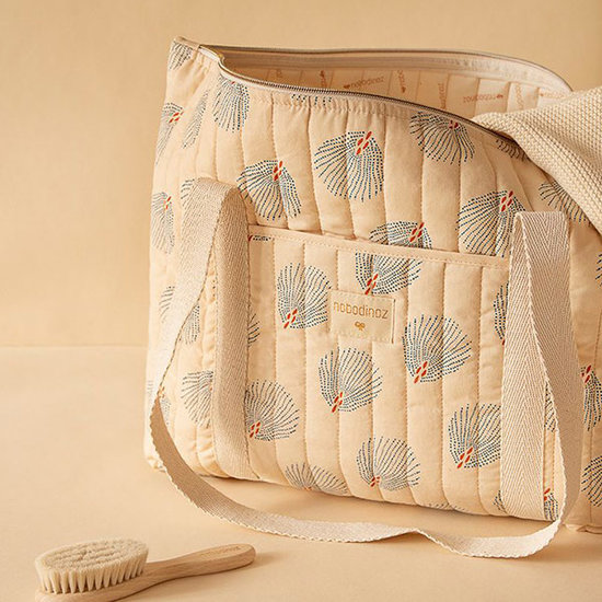 Nobodinoz tipi en accessoires Nobodinoz Paris luiertas Blue Gatsby - Cream