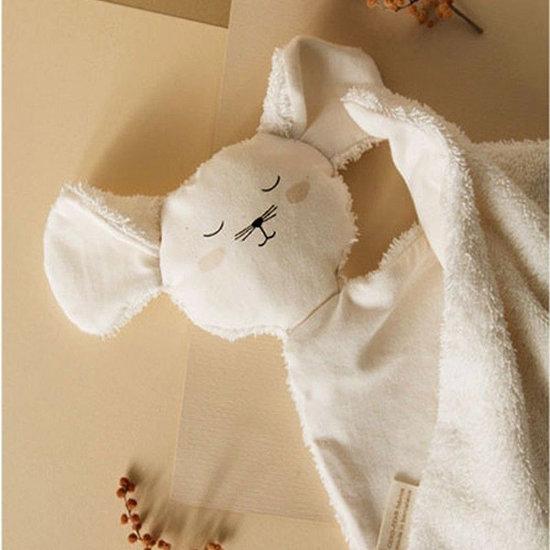 Nobodinoz tipi en accessoires Knuffeldoekje Mouse Natural - Nobodinoz