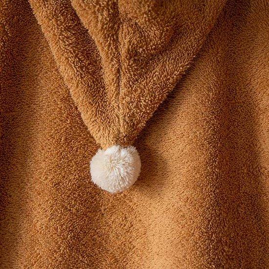 Nobodinoz tipi en accessoires Badeponcho So Cute Caramel - Nobodinoz 3-5 Jahren