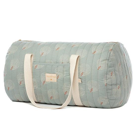 Nobodinoz tipi en accessoires Nobodinoz NY travel bag White Gatsby - Green