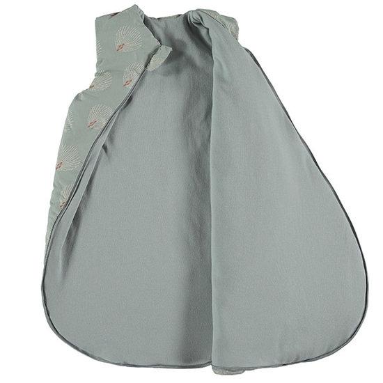 Nobodinoz tipi en accessoires Nobodinoz Cocoon Schlafsack White Gatsby - Green