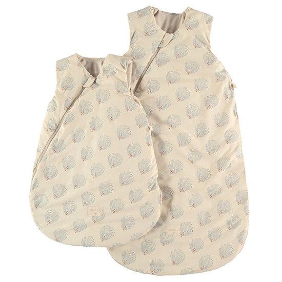 Nobodinoz tipi en accessoires Nobodinoz Cocoon slaapzak Blue Gatsby - Cream