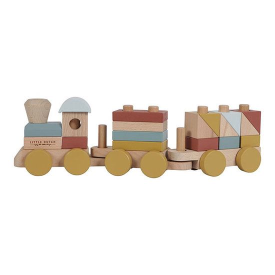 Little Dutch Toy train Pure and Nature - Little Dutch