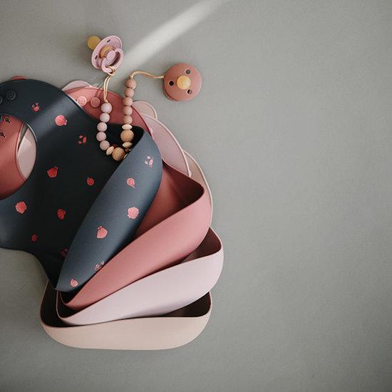 Mushie Mushie Silikon Lätzchen Cherries