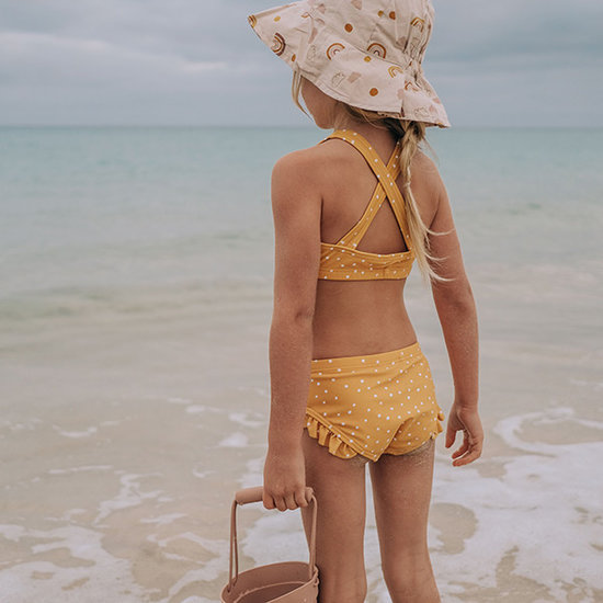 Liewood Bikini set Riley Stripe mustard - Liewood