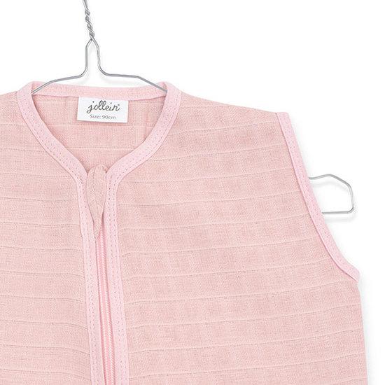 Jollein Jollein zomerslaapzak hydrofiel 110cm Pale pink